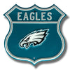 NFL Philadelphia Eagles Metal Route Sign