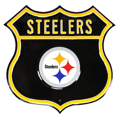 Pittsburgh Steelers Steel Route Sign