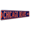 Chicago Bears Steel Street Sign-CHICAGO BEARS AVE