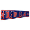 Houston Texans Steel Street Sign-HOUSTON TEXANS AVE
