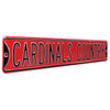 Arizona Cardinals Steel Street Sign-CARDINALS COUNTRY