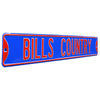 Buffalo Bills Steel Street Sign-BILLS COUNTRY