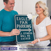 Philadelphia Eagles Steel Parking Sign-ALL OTHERS WILL BE SACKED