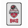 PRE-ORDER Tampa Bay Buccaneers SBLV Champion Reflective Parking Sign - BUCS -Ship Date- 3.25.21