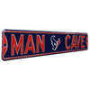 Houston Texans Steel Street Sign with Logo-MAN CAVE