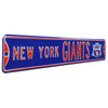 New York Giants Steel Street Sign with Logo-NEW YORK GIANTS SB-XLVI
