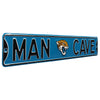 Jacksonville Jaguars Steel Street Sign with Logo-MAN CAVE