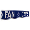 Dallas Cowboys Steel Street Sign with Logo-FAN CAVE