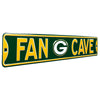 Green Bay Packers Steel Street Sign with Logo-FAN CAVE
