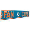 Miami Dolphins Steel Street Sign with Logo-FAN CAVE
