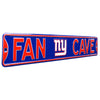 New York Giants Steel Street Sign with Logo-FAN CAVE