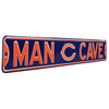 "Chicago Bears Steel Street Sign with Logo-MAN CAVE ""C"" Logo"