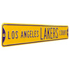 Los Angeles Lakers Steel Street Sign-LOS ANGELES LAKERS CT