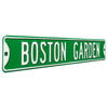Boston Celtics Steel Street Sign-BOSTON GARDEN