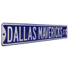 Dallas Mavericks Steel Street Sign-DALLAS MAVERICKS CT