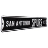 San Antonio Spurs Steel Street Sign-SAN ANTONIO SPURS CT