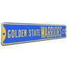 Golden State Warriors Steel Street Sign-GOLDEN STATE WARRIORS CT