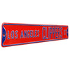 Los Angeles Clippers Steel Street Sign-LOS ANGELES CLIPPERS CT