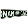 San Antonio Spurs Steel Street Sign with Classic Logo-MAN CAVE
