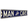 Utah Jazz Steel Street Sign with Logo-MAN CAVE
