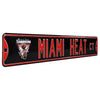 Miami Heat Steel Street Sign with Logo-2012 WORLD CHAMPIONS