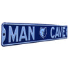 Memphis Grizzlies Steel Street Sign with Logo-MAN CAVE