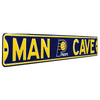 Indiana Pacers Steel Street Sign with Logo-MAN CAVE