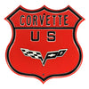 Corvette STEEL Route Sign
