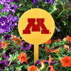 NCAA Minnesota STEEL Garden Stake- Yellow