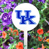 NCAA Kentucky Wildcats STEEL Garden Stake- White