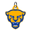 Pittsburgh Panthers Laser Cut Steel Key Ring-Panther Head
