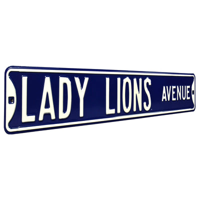 Penn State Nittany Lions Steel Street Sign-LADY LIONS AVENUE