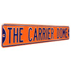 Syracuse Orange Steel Street Sign-THE CARRIER DOME
