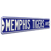 Memphis Tigers Steel Street Sign-MEMPHIS TIGERS AVE