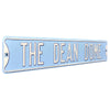 North Carolina Tar Heels Steel Street Sign-THE DEAN DOME