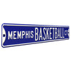 Memphis Tigers Steel Street Sign-MEMPHIS BASKETBALL CT
