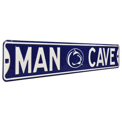 Penn State Nittany Lions Steel Street Sign with Logo-MAN CAVE