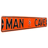 Oklahoma State Cowboys Steel Street Sign with Logo-MAN CAVE
