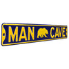 Cal Bears Steel Street Sign with Logo-MAN CAVE