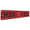 South Carolina Gamecocks Steel Street Sign with Logo-MAN CAVE