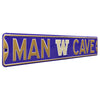 Washington Huskies Steel Street Sign with Logo-MAN CAVE
