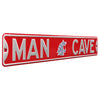 Washington State Cougars Steel Street Sign with Logo-MAN CAVE