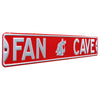 Washington State Cougars Steel Street Sign with Logo-FAN CAVE