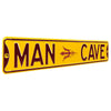 Arizona State Sun Devils Steel Street Sign with Logo-MAN CAVE