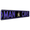 East Carolina Pirates Steel Street Sign with Logo-MAN CAVE