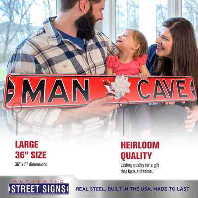 Eastern Washington Steel Street Sign with Logo-MAN CAVE
