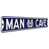Utah State Aggies Steel Street Sign with Logo-MAN CAVE