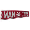 Montana Grizzlies Steel Street Sign with Logo-MAN CAVE
