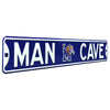 Memphis Tigers Steel Street Sign with Logo-MAN CAVE