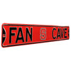 North Carolina State Steel Street Sign with Logo-FAN CAVE